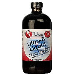 World Organic Ultra-B Liquid in Raisin Juice