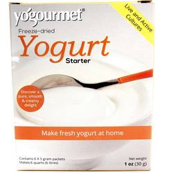 Yo Gourmet Freeze-dried Yogurt Starter