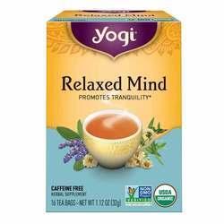 Yogi Tea Organic Teas Relaxed Mind Caffeine Free Tea