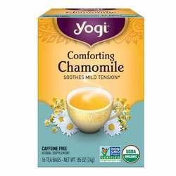 Yogi Tea Organic Teas Comforting Chamomile Tea Caffeine Free