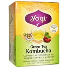 Yogi Tea Organic Teas Green Tea Kombucha