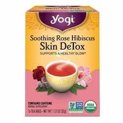 Yogi Tea Organic Teas Soothing Rose Hibiscus Skin Detox