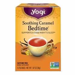 Yogi Tea Organic Teas Soothing Caramel Bedtime Caffeine Free