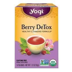 Yogi Tea Organic Teas Berry Detox Caffeine Free Tea