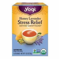 Yogi Tea Organic Teas Honey Lavender Stress Relief Tea