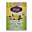 Yogi Tea Organic Teas Green Tea Blueberry Slim Life