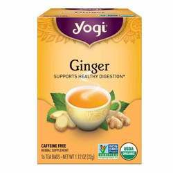 Yogi Tea Organic Teas Ginger Caffeine Free