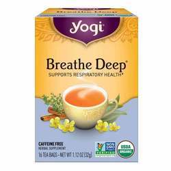 Yogi Tea Organic Teas Breathe Deep Caffeine Free Tea