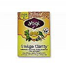 Yogi Tea Organic Teas Ginkgo Clarity Organic Tea