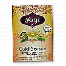 Yogi Tea Organic Teas Cold Season Organic Tea