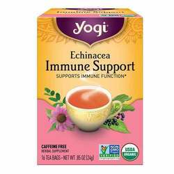 Yogi Tea Organic Teas Echinacea Immune Support Tea