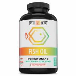 Zhou Fish Oil Purified Omega 3