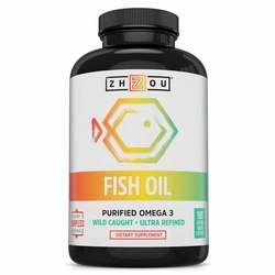 Zhou Fish Oil Purified Omega 3