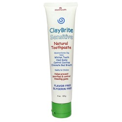 Zion Health ClayBrite Sensitive Natural Toothpaste
