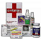 eVitamins Natural Flu Treatment & Prevention Kit