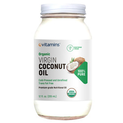 eVitamins Organic Virgin Coconut Oil