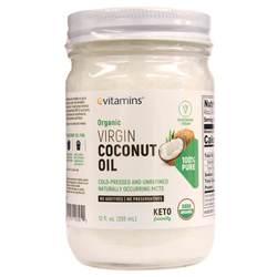 eVitamins Organic Virgin Cold Pressed Coconut Oil