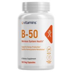 eVitamins B-50 Vitamin B Complex