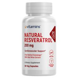 eVitamins Natural Resveratrol