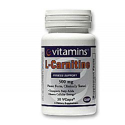eVitamins L-Carnitine 500 mg